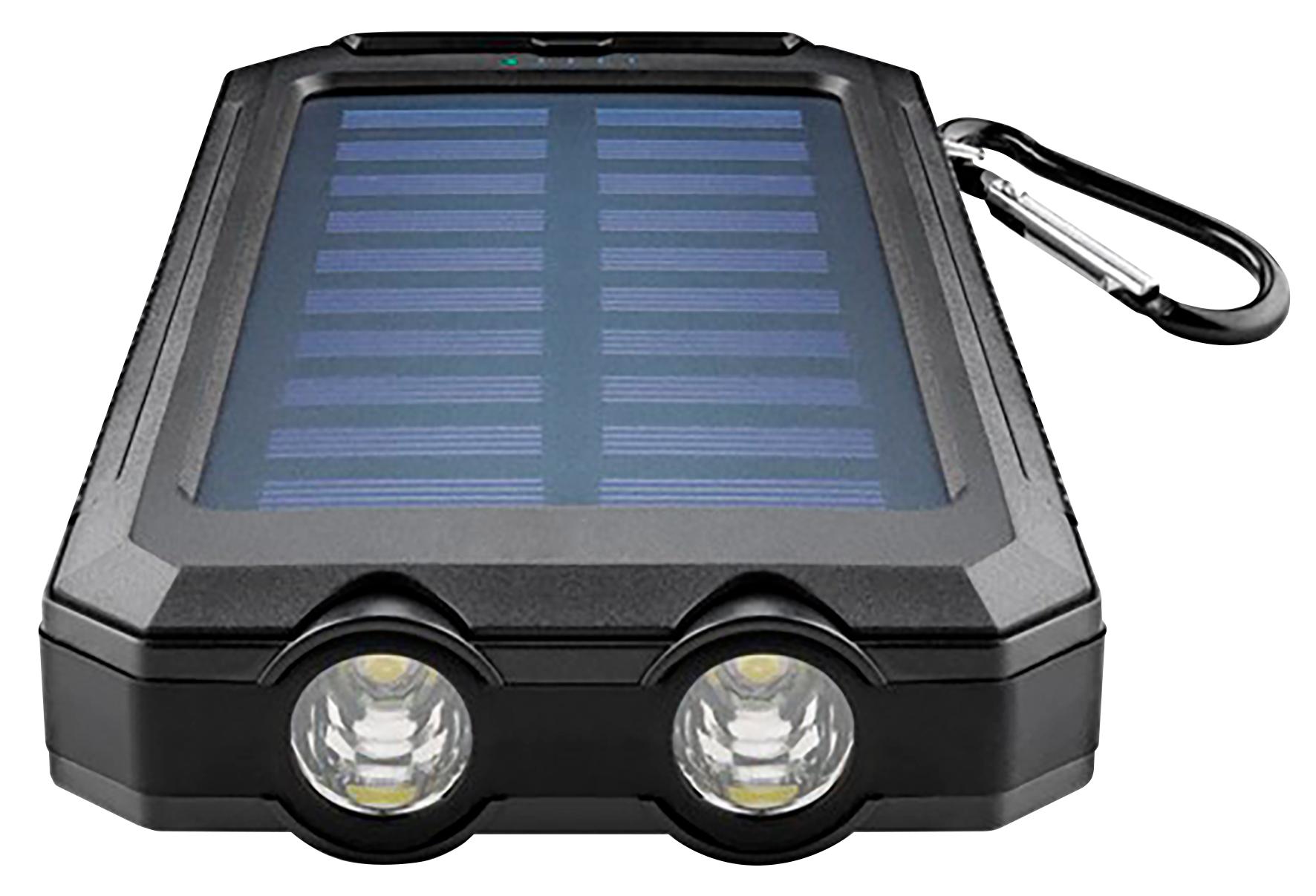 powerbank outdoor mit taschenlampe ip45 ett der elektronik und technik gro handel. Black Bedroom Furniture Sets. Home Design Ideas